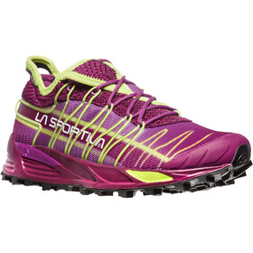 La Sportiva Mutant Zapatillas running Mujer, plum/apple green